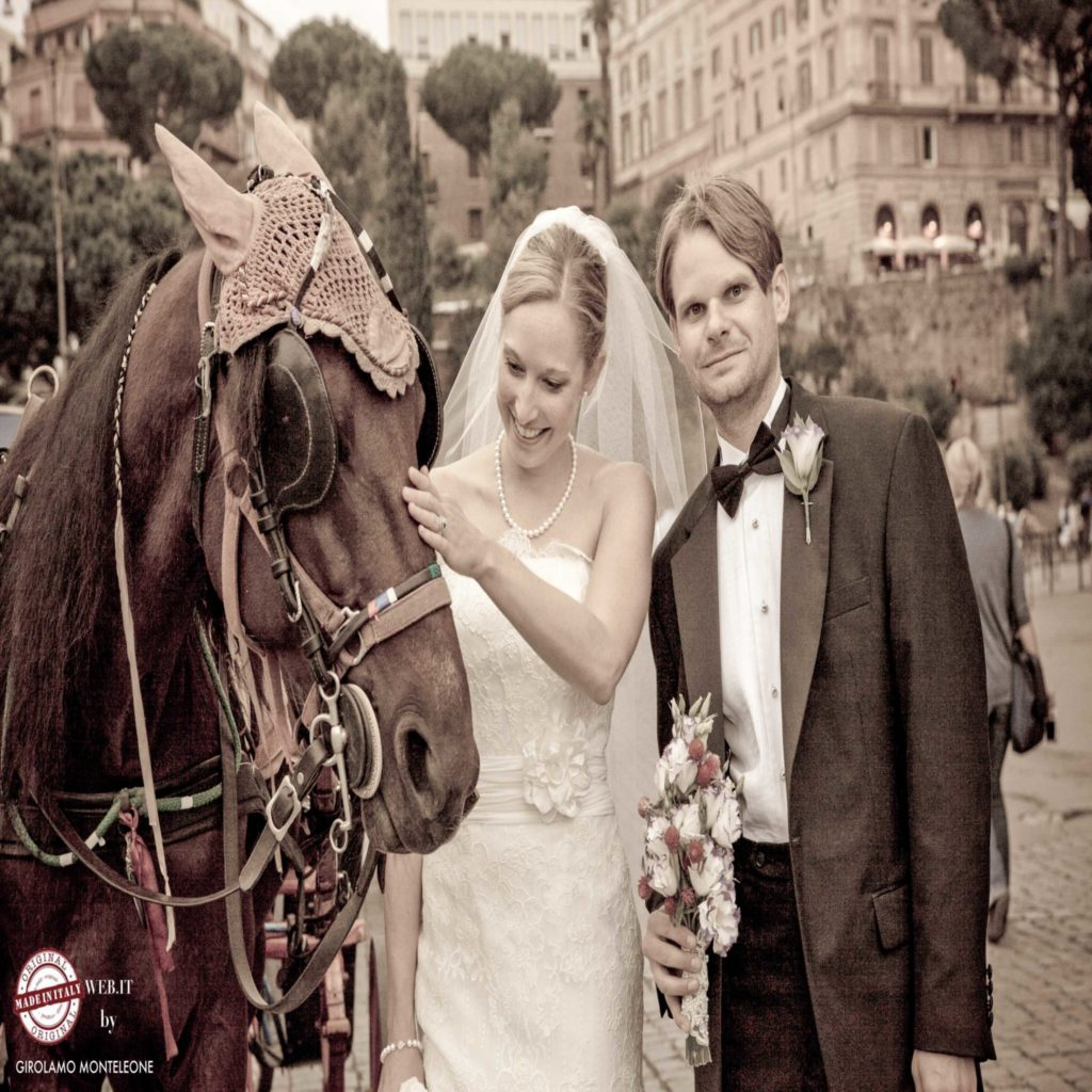 Destination wedding Rome