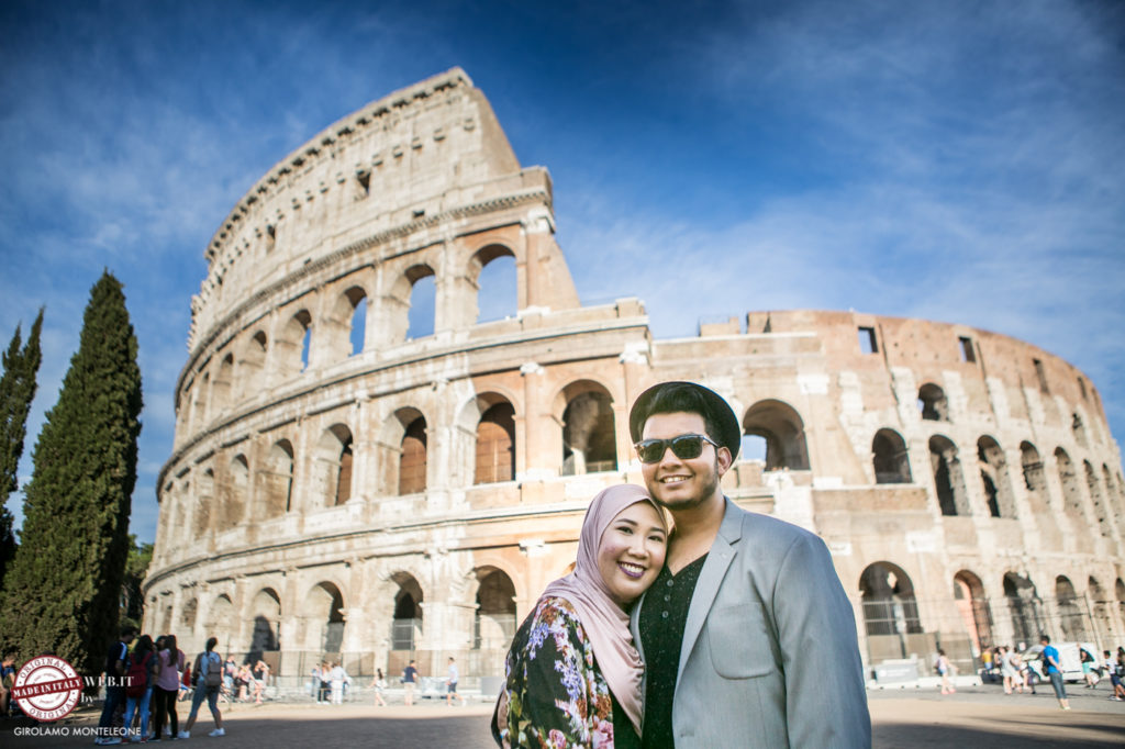 photoshooting in Rome Muslim Singaporean couple Fairoz & Nurulhuda2016agosto061849308435